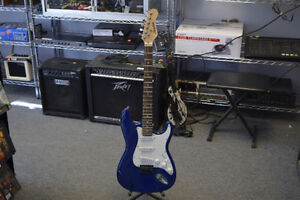 **GREAT CONDTION** Grayson Blue Strat Copy Electric Guitar