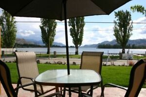 Lakefront Townhouses in Sunny Osoyoos. Snowbird Specials