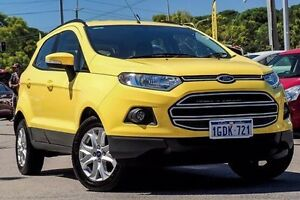 2015 Ford Ecosport BK Trend PwrShift Yellow 6 Speed Sports Automatic Dual Clutch Wagon Myaree Melville Area Preview