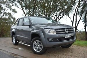 2015 Volkswagen Amarok 2H MY15 TDI420 4Motion Perm Highline Grey 8 Speed Automatic Utility St Marys Mitcham Area Preview