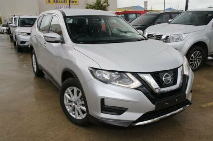 2017 Nissan X-Trail T32 Series II ST X-tronic 4WD Brilliant Silver 7 Speed Constant Variable Wagon