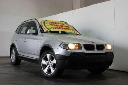 2005 BMW X3 E83 MY05 Upgrade 2.5I Silver 5 Speed Auto Steptronic Wagon