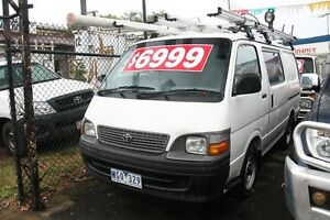 2001 Toyota Hiace RZH103R White 5 Speed Manual Van Briar Hill Banyule Area Preview