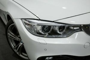 2017 BMW 430i F33 Sport Line White 8 Speed Sports Automatic Convertible