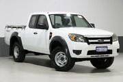 2010 Ford Ranger PK XL (4x4) White 5 Speed Manual Super Cab Pickup Bentley Canning Area Preview
