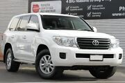 2014 Toyota Landcruiser VDJ200R MY13 GXL Glacier White 6 Speed Sports Automatic Wagon Adelaide CBD Adelaide City Preview