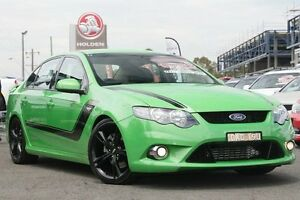 2009 Ford Falcon FG XR6 Turbo Dash Green 6 Speed Sports Automatic Sedan Liverpool Liverpool Area Preview