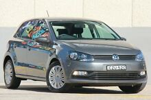 2015 Volkswagen Polo 6R MY15 66 TSI Trendline Grey 7 Speed Automatic Hatchback Wolli Creek Rockdale Area Preview