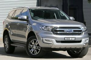 2016 Ford Everest UA Trend Silver 6 Speed Automatic Wagon Petersham Marrickville Area Preview