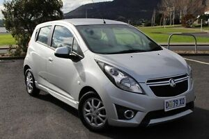 2014 Holden Barina Spark MJ MY15 CD Silver 4 Speed Automatic Hatchback Derwent Park Glenorchy Area Preview
