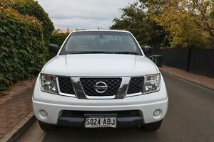 2008 Nissan Navara D40 RX White 6 Speed Manual Utility Hove Holdfast Bay Preview