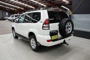 2009 Toyota Landcruiser Prado KDJ120R GXL White 6 Speed Manual Wagon Maryville Newcastle Area Preview