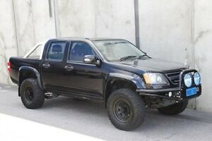 2009 Holden Colorado RC MY09 LX Crew Cab Black 4 Speed Automatic Utility Mount Hawthorn Vincent Area Preview