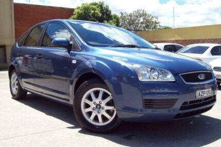 2006 Ford Focus LS CL Blue 4 Speed Automatic Hatchback Windsor Hawkesbury Area Preview