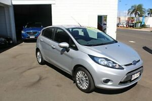 2012 Ford Fiesta WT LX PwrShift Highlight Silver 6 Speed Sports Automatic Dual Clutch Hatchback Toowoomba Toowoomba City Preview
