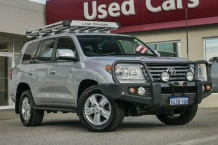 2015 Toyota Landcruiser VDJ200R VX Silver 6 Speed Sports Automatic Wagon