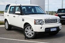 2010 Land Rover Discovery 4 Series 4 MY11 SDV6 CommandShift White Sports Automatic Wagon Wangara Wanneroo Area Preview
