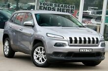 2014 Jeep Cherokee KL Sport (4x2) Silver 9 Speed Automatic Wagon Brookvale Manly Area Preview