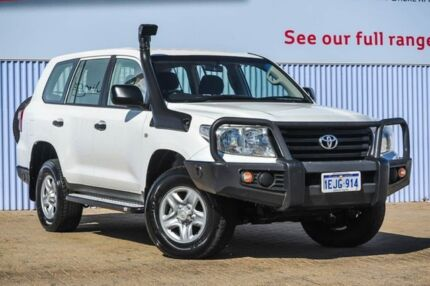 2014 Toyota Landcruiser VDJ200R MY13 GX White 6 Speed Sports Automatic Wagon Morley Bayswater Area Preview