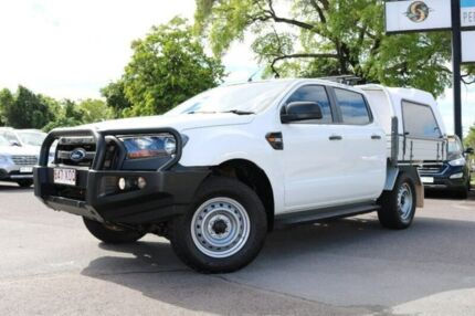2016 Ford Ranger PX MkII XL Double Cab White 6 Speed Manual Utility