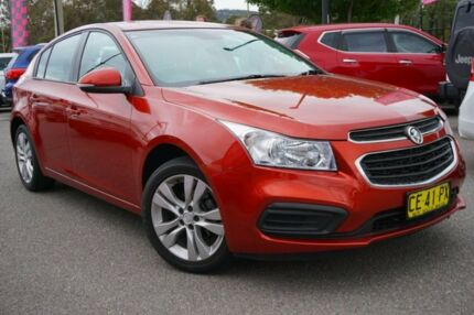 2015 Holden Cruze JH Series II MY15 Equipe Red 5 Speed Manual Hatchback Phillip Woden Valley Preview