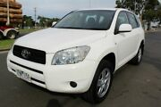 2007 Toyota RAV4 ACA33R CV White 4 Speed Automatic Wagon West Footscray Maribyrnong Area Preview