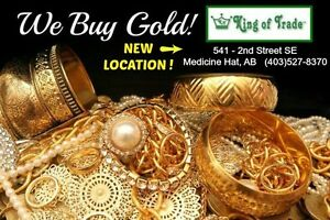 We Buy Gold - King of Trade! New Location!