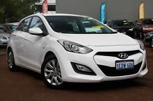 2013 Hyundai i30 GD Active White 6 Speed Sports Automatic Hatchback Cannington Canning Area Preview