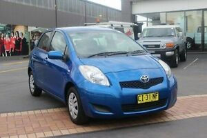 2010 Toyota Yaris NCP90R 08 Upgrade YR Blue 4 Speed Automatic Hatchback South Maitland Maitland Area Preview