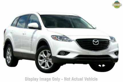 2015 Mazda CX-9 TB10A5 MY14 Classic Activematic Crystal White Pearl 6 Speed Auto Seq Sportshift Wago Cannington Canning Area Preview