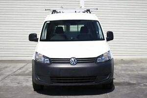 2011 Volkswagen Caddy 2KN MY11 TDI250 Maxi White 5 Speed Manual Van