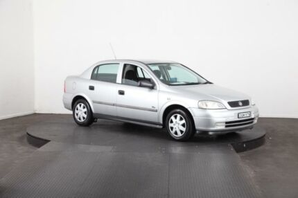 2000 Holden Astra TS City Silver 4 Speed Automatic Sedan
