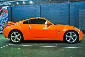 2007 Nissan 350Z Z33 MY06 Touring Orange 5 Speed Sports Automatic Coupe