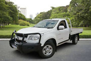 2012 Holden Colorado RG LX (4x4) White 6 Speed Automatic Cab Chassis Kewdale Belmont Area Preview