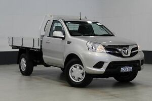 2014 Foton Tunland P201 MY14 (4x4) Silver 5 Speed Manual C/Chas Tray Bentley Canning Area Preview
