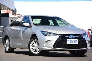 2015 Toyota Camry AVV50R Atara SL Silver Pearl 1 Speed Constant Variable Sedan Glendalough Stirling Area Preview