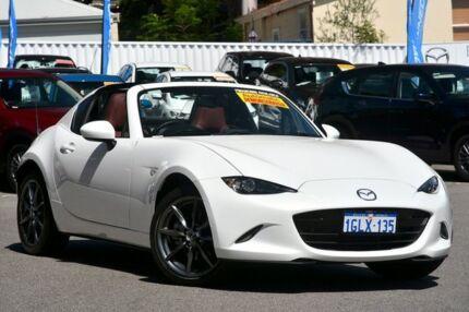 2017 Mazda MX 5 ND GT RF SKYACTIV Drive Crystal White Pearl 6 Speed