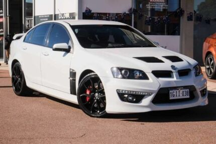 2013 Holden Special Vehicles Clubsport E Series 3 MY12.5 White 6 Speed  Sports Automatic Sedan