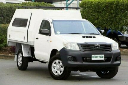 2011 Toyota Hilux KUN26R MY12 Workmate White 5 Speed Manual Cab Chassis & 3xm canopy | Cars u0026 Vehicles | Gumtree Australia Free Local ...