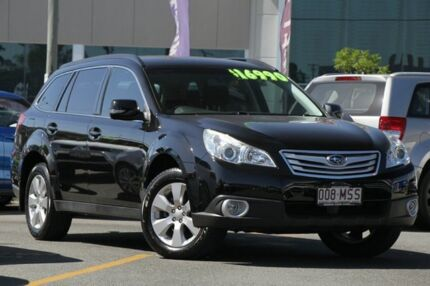 2009 Subaru Outback B5A MY10 2.5i Lineartronic AWD Black 6 Speed Constant  Variable Wagon