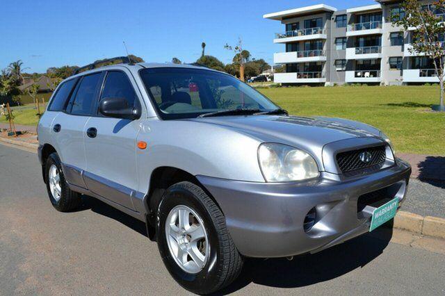 2000 Hyundai Santa Fe SM GL Silver 4 Speed Sports Automatic Wagon