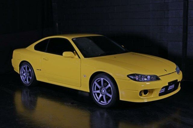 1999 Nissan Silvia S15 Spec R Yellow 6 Speed Manual Coupe
