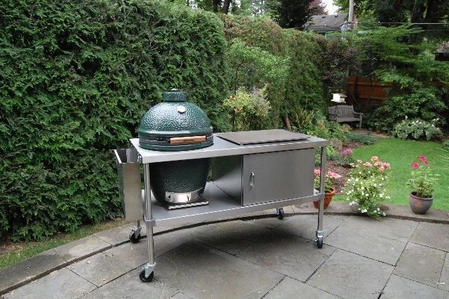 Attractive How To Build A Big Green Egg Table