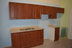 brand new kitchen cabinets at price of used ones blow out sale