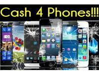 Cash Paid For iPhone 5 and 6 Used or Cracked (Must be Working)