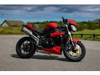 Triumph Speed Triple 1050cc - 2012