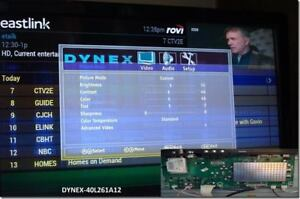 40 INCH TELEVISION Dynex  40L261a1- Needs new Panel - SOLD AS IS