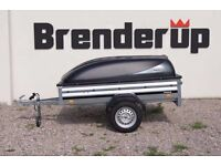 CAR BOX TRAILER BRENDERUP 1205s + ABS lid