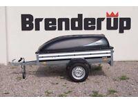 CAR BOX TRAILER BRENDERUP 1205s + ABS lid