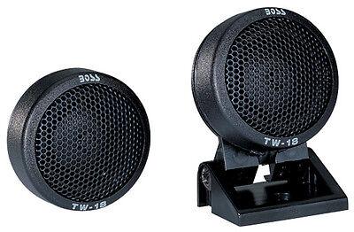 - Boss Audio TW18B *Tw18* Micro Dome Tweeter Swivel Mount
